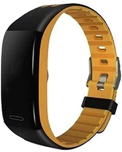 Reemplazo de silicona deportiva para mujeres y hombres, correa suave, transpirable, pulsera de fitness, impermeable, pulsera deportiva, pantalla a color, reloj inteligente de actividad con sangre P-B
