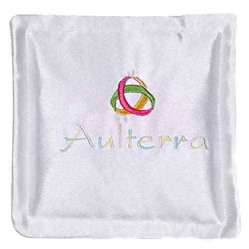 Aulterra Energy Pillow EMF Protection and Grounding to Neutralize Harmful Incoherent EMF Frequencies Including 5G (White)