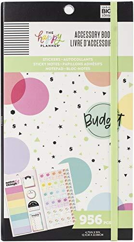 me & my BIG ideas BILANCIO degli Accessori, Budget, 956/Pkg, taglia unica