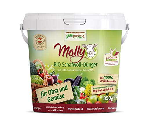 Molly Bio Schafwolldünger Obst