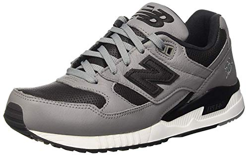 New Balance 530 Men's Casual Sneakers, Size 7.5, Color Steel/Black