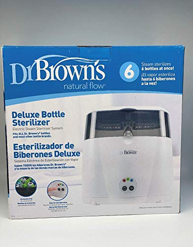Dr. Brown's Deluxe Bottle Sterilizer   Easy-to-use One-Button Operation (Bottle Sterilizer)