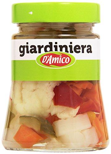 D'Amico - Giardiniera, Ortaggi aromatizzati all'aceto di vino - 300 g