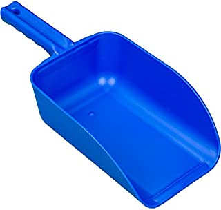 Remco 65003 Hand Scoop, Injection Molded, Polypropylene, Color-Coded, 1 Piece, 82 oz, Blue