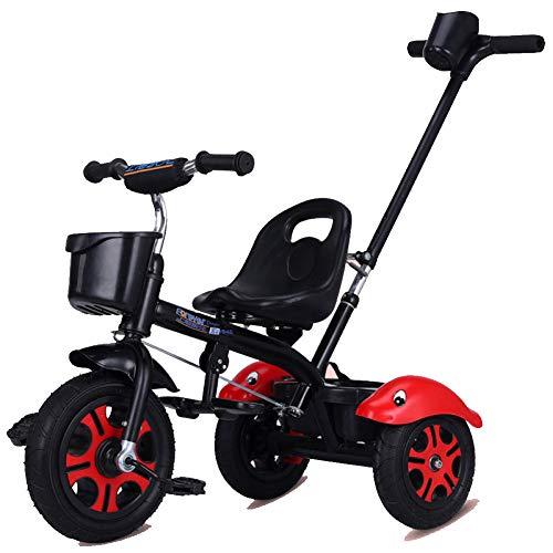 GIFT Premier Vélo Roue Molle Kids Tricycle Trike EVA, Siège Peut être Ajusté, Cadeau De Noël Nouvel an 2-6ans,A
