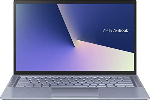 ASUS ZenBook 14 UX431FA-AM021T - Ordenador portátil de 14' FullHD (Intel Core i7-8565U, 8GB RAM, 256GB SSD, Intel Graphics, Windows 10) Azul Plata - Teclado QWERTY Español (Reacondicionado)