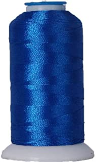 Threadart Polyester Machine Embroidery Thread By the Spool - No. 934 - Electric Blue - 1000M - 220 Colors Available