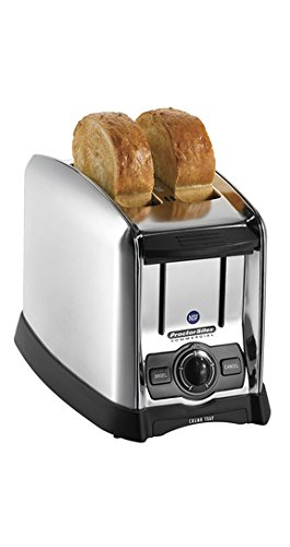 Proctor Silex 22850 2 Slice Extra-Wide Slot Commercial Toaster, Silver