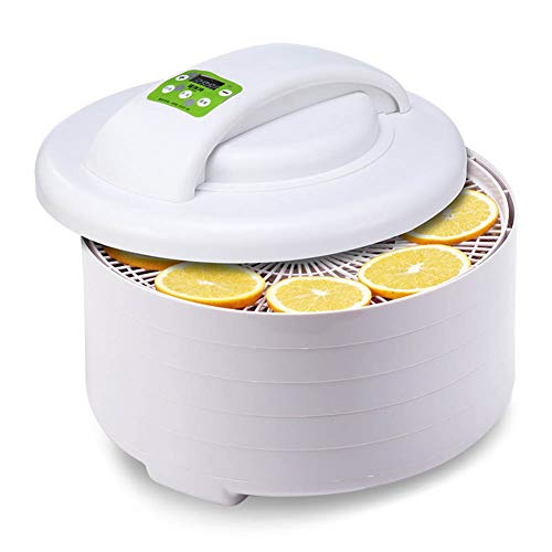 Lowest Price! Food Dehydrator 5-Layer Tray Fruit Dehydrater SmartTiming Control Temperature Constant...