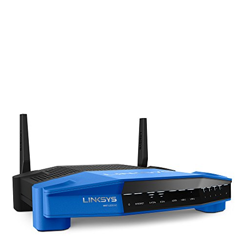 Linksys WRT1200AC Dual-Band and Wi-Fi Wireless Router with Gigabit and USB 3.0 Ports and eSATA