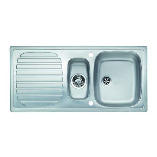 Reginox Prince R 1 5 Bowl Stainless Steel Kitchen Sink Lennie Shelburne