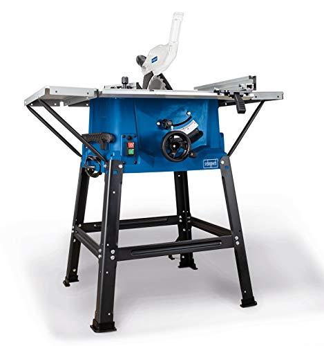 Scheppach Tischkreissäge 250-er Set, 230 V, 2000 W mit 2 Tischverbreitungen und Untergestell, HS100STVB - 4