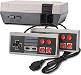 Classic Mini Retro Video Game Console, 8-bit Video Game Built-in 620 Games with 2 Controllers for NES Style (NOT OEM, AV Output)