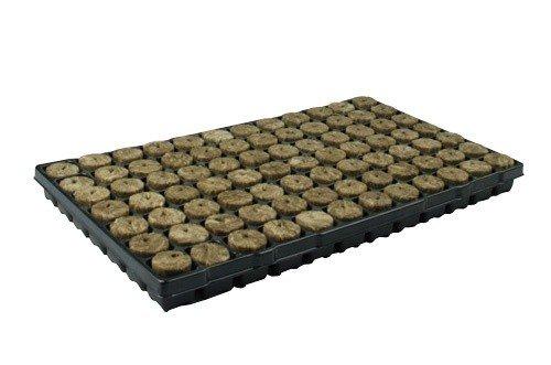 Speedgrow Green, Anzuchtmatte 38/40, inkl. Plastikuntersatz, mit 84 Anzuchtwürfeln