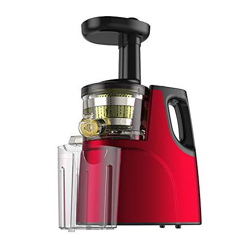 LYXLQ Juice Mixer, Entsafter langsam mahlender Entsafter Maschine, 80MM mit großem Durchmesser 7-Segment drehende Welle mit Low Noise, passend für jedes Obst und Gemüse,A