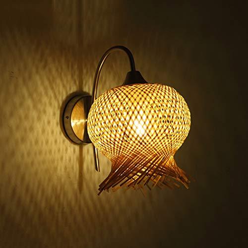 De enige goede kwaliteit Decoratie Creatieve Tuin Bamboe Wandlamp Bloem Verlichting Lampen 10-15 Vierkante Meter Restaurant Slaapkamer Studie Cafe