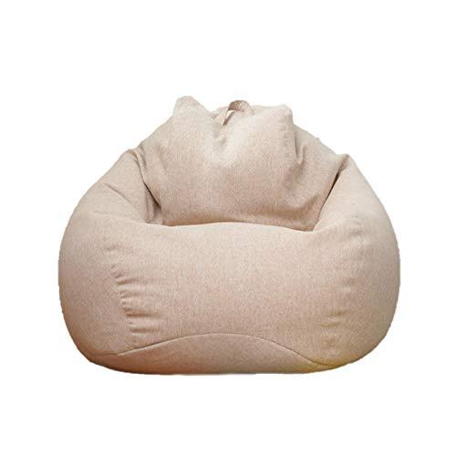 Euopat Sofá Bean Bag, Sofá Perezoso Extraíble, Cómoda Silla De Asiento Beanbag, Silla De Interior Bean Bag para Adultos Y Niños- 90x110cm Bag Only