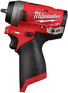 MILWAUKEE M12 FUEL Stubby 1/4 in.