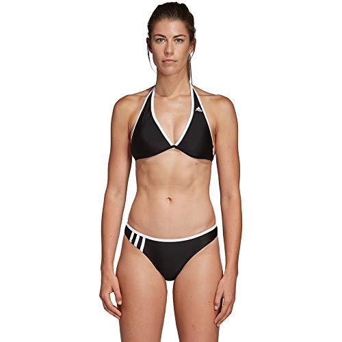 adidas Damen 3-Streifen NH Bikini, Black/White, 38