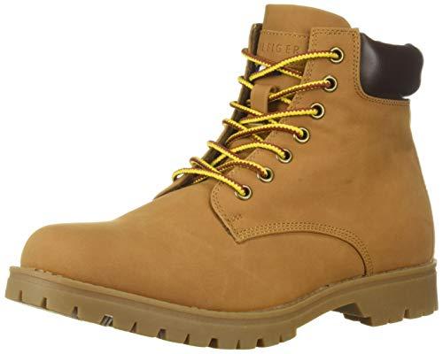 Tommy Hilfiger Men's Jorus Combat Boot, Tan, 10