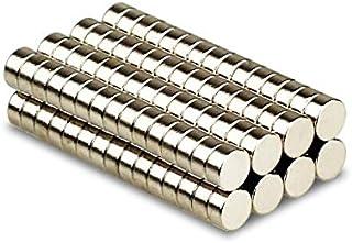 Magnetastico® | 25 piezas imanes de neodimio N52 discos 8x2 mm | Imán de nevera Imán para cartelera Imán permanente Imán para pizarra interactiva