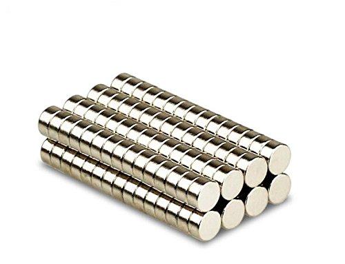 Magnetastico® | 25 Stück Neodym Magnete N52 Scheibe 10x5 mm | Sehr Starke Magnete | Kühlschrankmagnet Pinnwandmagnet Dauermagnet Whiteboard Magnet Haftmagnet Scheibenmagnet