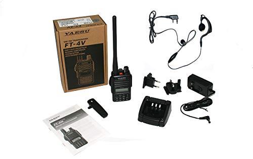 YAESU FT4VE WALKIE Talkie VHF 144-146 MHz Potencia 5 Watios Pinganillo PIN19M !!