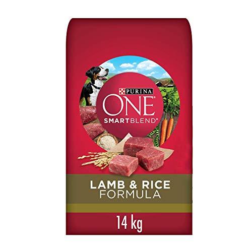 Purina ONE Smartblend Natural Dry Dog Food, Lamb & Rice 14 kg