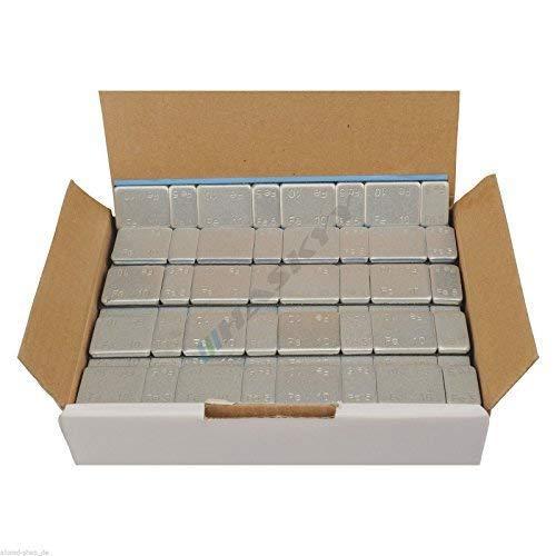 50 Riegel Klebegewichte Kleberiegel Auswuchtgewichte 5g*4+10g*4 Abrisskante