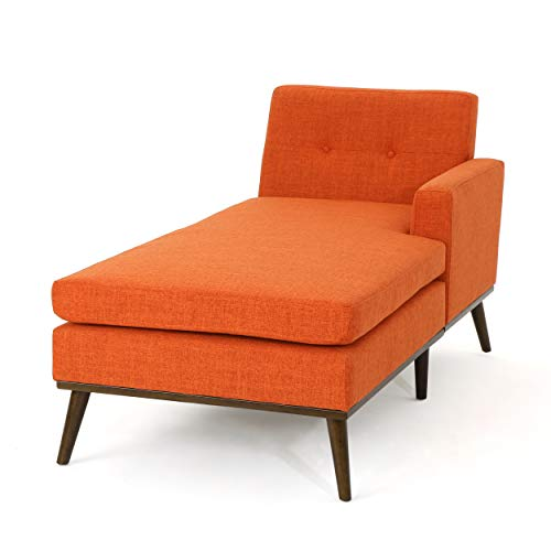 Christopher-Knight-Home-Sophia-Mid-Century-Modern-Fabric-Chaise-Lounge-Muted-OrangeWalnut