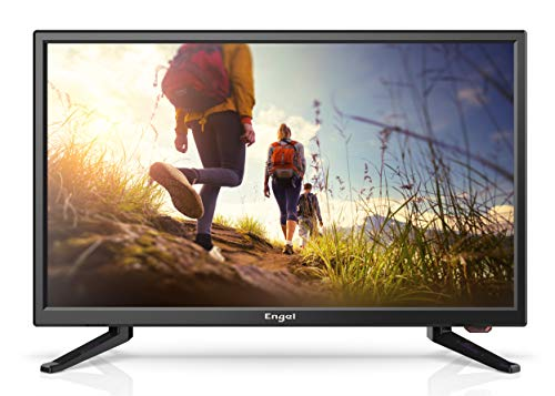 TV LED 22'' Engel LE2250 Full HD (Especial Camping 12V, Reproductor y Grabador USB,1 x HDMI, Modo Hotel)