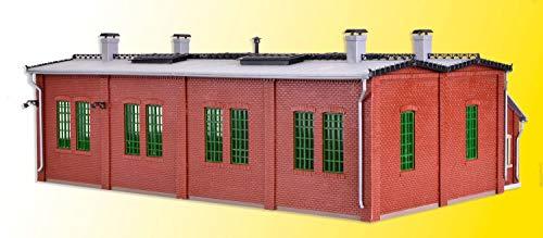 Vollmer 45752 H0 Lokschuppen mit Türschließvorrichtung, zweiständig