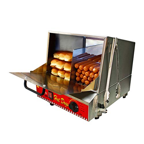 Paragon Classic Hot Dog Hut Steamer Merchandiser for Professional Concessionaires Requiring Commercial Quality & Construction