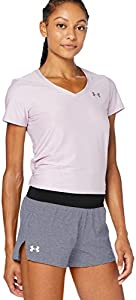 Under Armour Launch Sw 5'' Short Corto, Mujer, Negro, LG