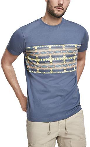Urban Classics Inka Patroon Tee T-shirt voor heren