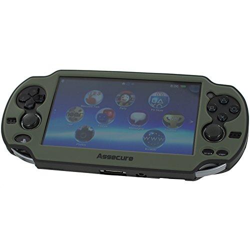 Protective cover for Sony PS Vita 1000 soft silicone bumper skin – grey &...