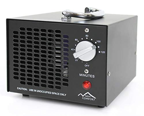 New Comfort Scratch and Dent Commercial 8,500mg/hr O3 Ozone Generator Air Purifier Model HE-500 10000 hrs