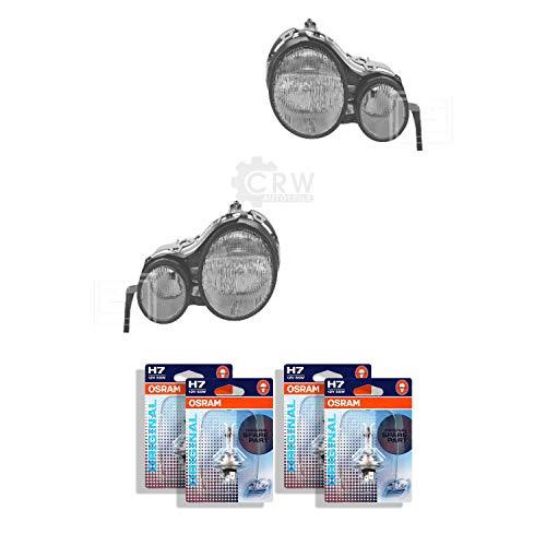 Scheinwerfer Set E Klasse W210 Bj. 05/95-07/99 H7+H7 inkl. Lampen