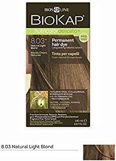 BioKap Nutricolor Delicato+ 8.03+ Natural Light Blond, 140 milliliters
