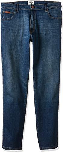 Wrangler Herren Greensboro Jeans Jeans GREENSBORO REGULAR JEANS, Darkstone 110, W36/L32