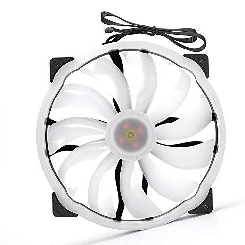 Ventilador de refrigeración para PC, accesorios de computadora de colores de múltiples niveles de 12V, disipación de calor fuerte, brillo multinivel, compatible con varias carcasas de PC, para computa