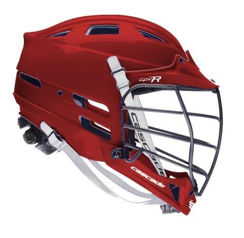 Cascade Maroon CPV-R Lacrosse Helmet Black Mask-Med/Lg