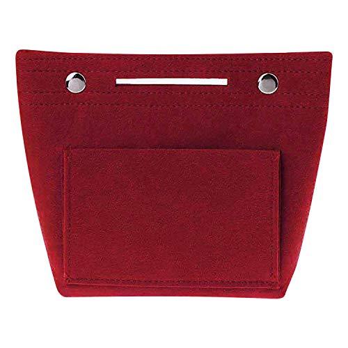 semen Taschenorganizer Fliz Handtasche Organizer Make-up Tasche Klein Bag in Bag Kosmetikorganizer Frauen Damen Innentasche Taschenorder