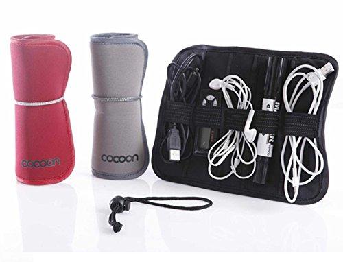 EQLEF® 1 Piece Support Multifonction données Pliable Portable Ligne Sac de Rangement Earphone Pen Sac