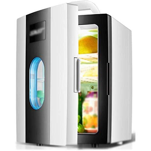 MEETGG Mini refrigerador Mute portátil, Alta Capacidad para vehículo, hogar