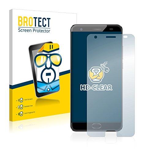 BROTECT Schutzfolie kompatibel mit Oukitel K6000 Plus (2 Stück) klare Bildschirmschutz-Folie