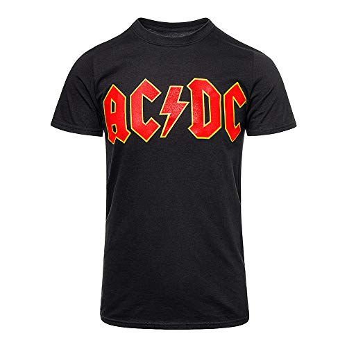 AC/DC Maillot pour Hommes XL Noir