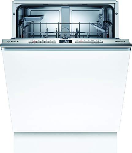 Bosch SBV4HAX48E Serie 4 XXL-Geschirrspüler Vollintegriert / D / 60 cm / 92,5 cm Nischenhöhe / 84 kWh/100 Zyklen / 13 MGD / SuperSilence / InfoLight / ExtraTrocknen / VarioBesteckkorb / Home Connect