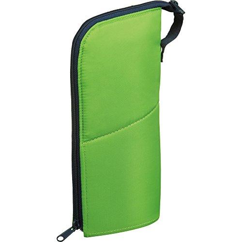 コクヨ ペンケース 筆箱 ペン立て ネオクリッツ ラージサイズ グリーン×ネイビー F-VBF181-4