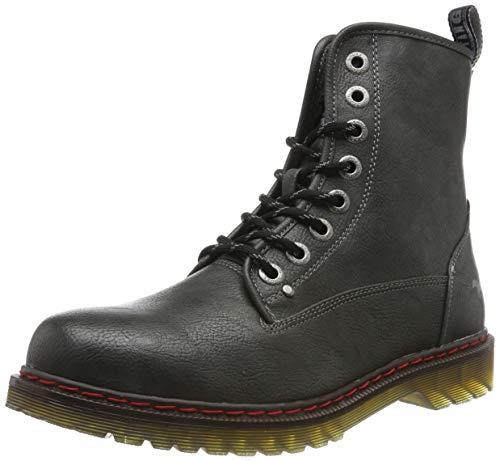 MUSTANG Herren 4145-601-259 Combat Boots, Grau (Graphit 259), 42 EU